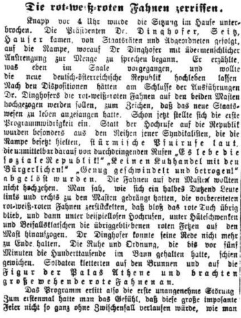 Neues Wiener Journal, 13. November 1918
