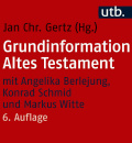 Jan christian gertz, grundinformation altes testament